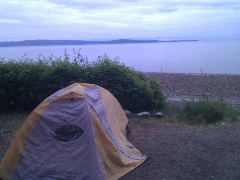 Sunshine Coast Day 2 Camping: Willingdon Beach Municipal Park