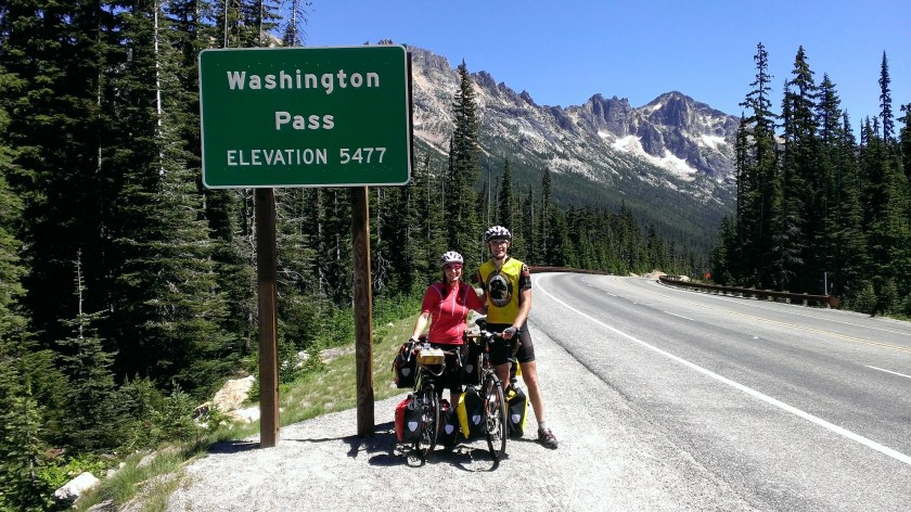 Day 3: The top of Washington Pass!